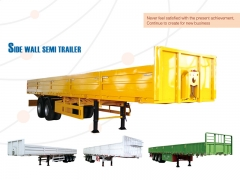 New Design Most Economical Side Wall Semi Trailer, Cargo Trailer Body Panels, Trailer Side Panel