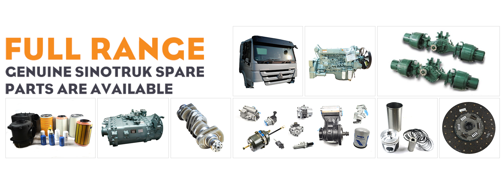 Heavy Truck Parts and Accessories suppliers